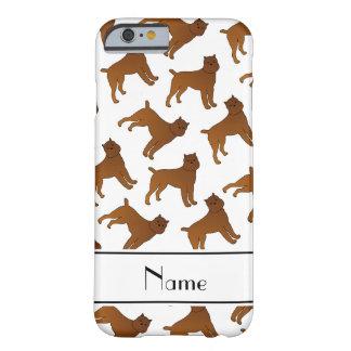 Perros blancos conocidos personalizados del funda para iPhone 6 barely there