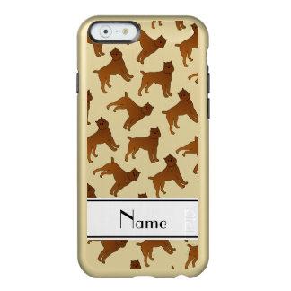 Perros blancos conocidos personalizados del funda para iPhone 6 plus incipio feather shine