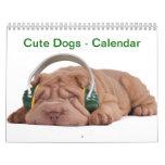Perros - calendario