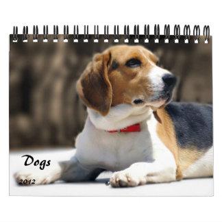 Perros: Calendario del mejor amigo 2012 del hombre