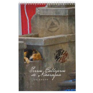 Perros Callejeros de Nicaragua Calendar