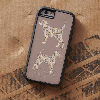 Perros con el caso del iPhone 6 de los huesos Funda Para iPhone 6 Tough Xtreme