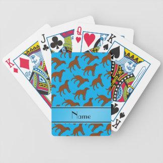 Perros conocidos del perro perdiguero de bahía de barajas de cartas