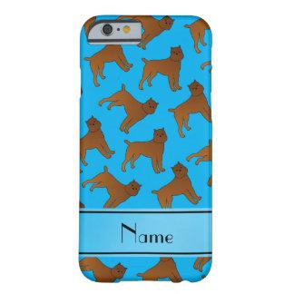 Perros conocidos personalizados del griffon de funda de iPhone 6 barely there