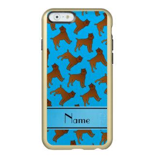Perros conocidos personalizados del griffon de funda para iPhone 6 plus incipio feather shine