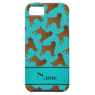 Perros conocidos personalizados del griffon de iPhone 5 fundas