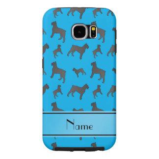 Perros conocidos personalizados del Schnauzer Fundas Samsung Galaxy S6