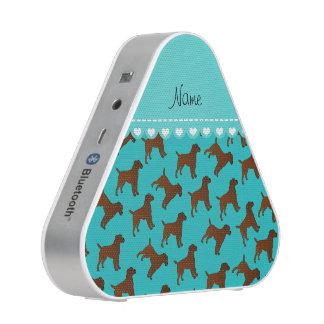 Perros conocidos personalizados del terrier de altavoz