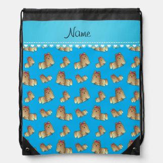 Perros conocidos personalizados del tzu de shih mochilas