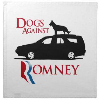 Perros contra Romney - .png Servilleta