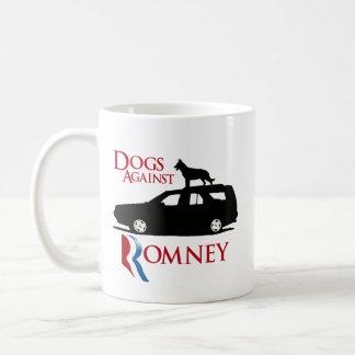 Perros contra Romney - .png Taza