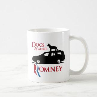 Perros contra Romney - .png Taza De Café