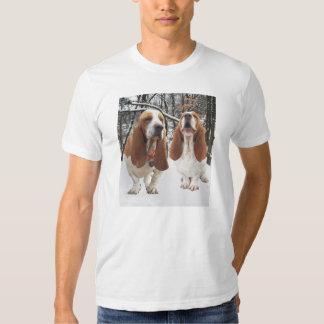 Perros de afloramiento en camisa de maderas Nevado