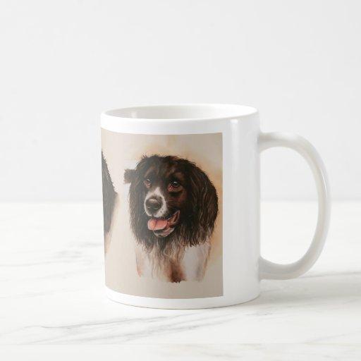 """Perros de aguas de saltador con """"el texto del mejo tazas de café"""
