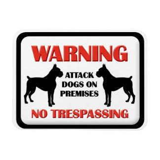 Perros de ataque AMONESTADORES Imanes