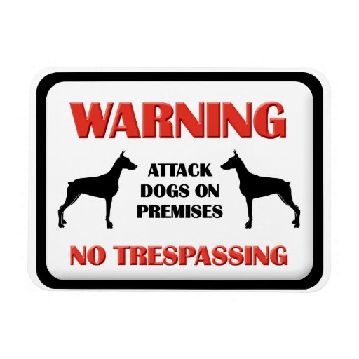 Perros de ataque AMONESTADORES Iman