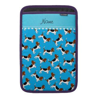 Perros de caza conocidos personalizados del fundas para macbook air