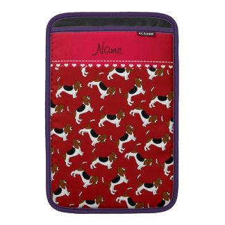 Perros de caza rojos conocidos personalizados del funda  MacBook