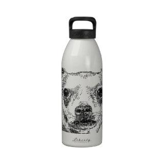 Perros de la Chihuahua-Chiwawa Botella De Agua