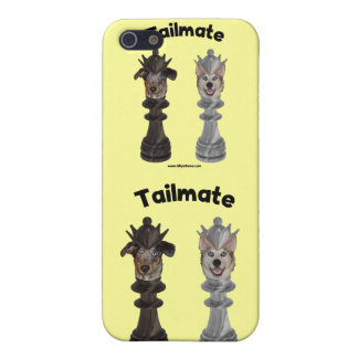 Perros de la reina del ajedrez de Tailmate iPhone 5 Coberturas