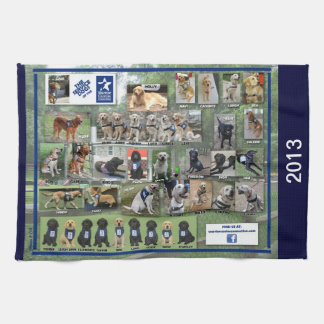 Perros de la toalla 2013 de cocina de WCC