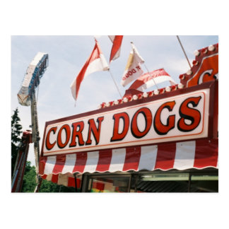 Perros de maíz tarjetas postales