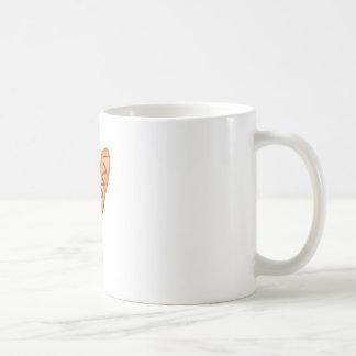 Perros de maíz taza de café