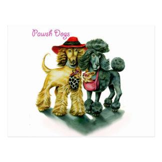 Perros de Pawsh Tarjetas Postales