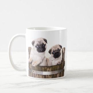 Perros de perrito de los barros amasados del amor  taza