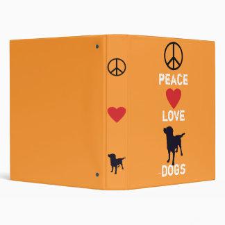 Perros del amor de la paz