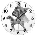 Perros del boxeador reloj