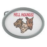 Perros del infierno hebillas de cinturón