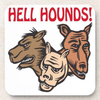 Perros del infierno posavaso