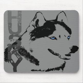 Perros del lobo del Malamute de los regalos de Mou Alfombrilla De Ratones