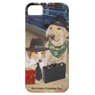 Perros del representante de Customizable Pet iPhone 5 Carcasa