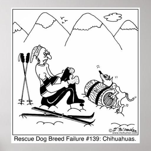 Perros del rescate de la chihuahua impresiones