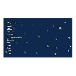 Perros el dormir - negocio tarjetas de visita