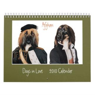 Perros en calendario del amor 2010