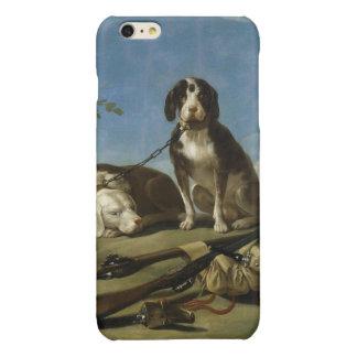 Perros en traílla glossy iPhone 6 plus case