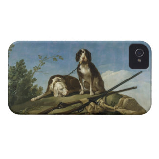 Perros en traílla iPhone 4 case