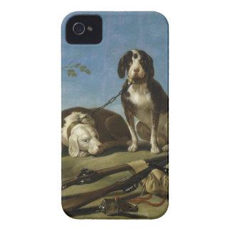 Perros en traílla iPhone 4 cover