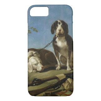 Perros en traílla iPhone 7 case