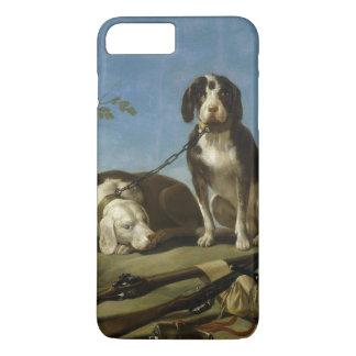 Perros en traílla iPhone 7 plus case