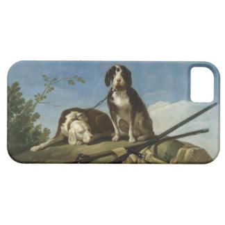 Perros en traílla iPhone SE/5/5s case