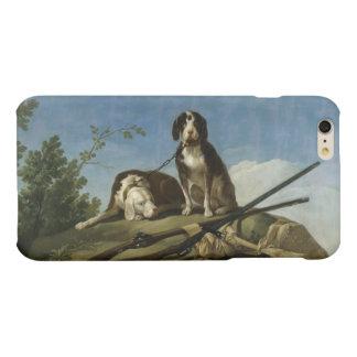 Perros en traílla matte iPhone 6 plus case