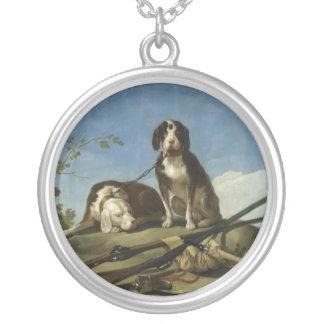 Perros en traílla Necklace