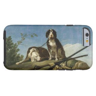 Perros en traílla tough iPhone 6 case