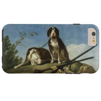 Perros en traílla tough iPhone 6 plus case
