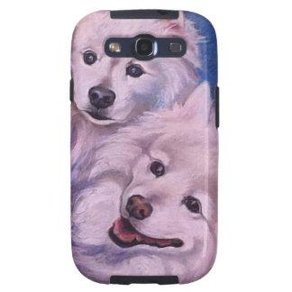 Perros esquimales americanos galaxy s3 protector