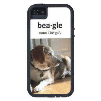 Perros famosos: Dexter el beagle, caso iPhone5/5S iPhone 5 Case-Mate Coberturas